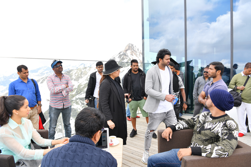 Prabhas delighted with the Saaho shoot experience at Tirol